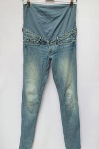 Spodnie Ciążowe H&M Mama Rurki Dzinsy Skinny M 38...