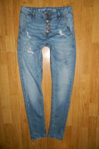 CUBUS tapered taylor spodnie jeansowe roz XS...