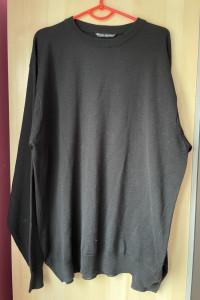 Top Secret czarny wełniany sweter oversize