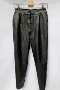 Spodnie Czarne Skórzane Eko Skóra NLY Trend XS 34...