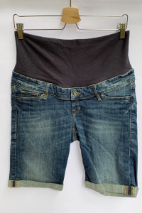 Spodenki Ciążowe H&M Mama Dzinsowe L 40 Shorts Jeans