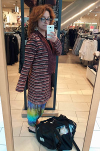 Sweter CA C&A kolory brązu