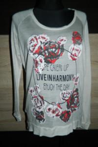 Vero Moda cienka luźna bluzka sweterek roz M