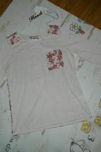HOOCH luźna bluzka kieszonka roz 34