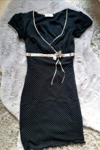 Sukienka w kropki XS...