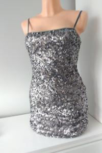 Sukienka z cekinami rozmiar M...