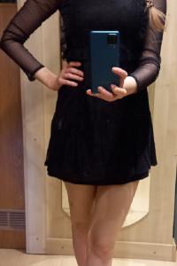 Sukienka z koronki...