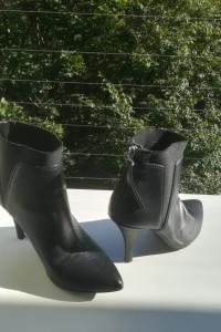 Czarne botki na obcasie 37 38 La Strada