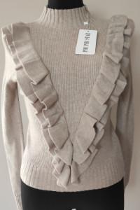 Elegancki sweterek półgolf