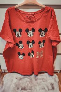 Czerwona bluzka damska Disney XXL