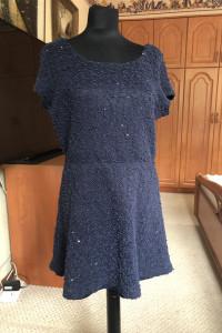 Sukienka dzianinowa...