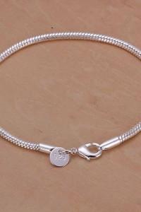 Nowa bransoletka baza modułowa srebrna srebro 925 żmijka bransoleta