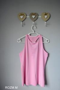 Koszulka róż Nike sportowa M Dry fit