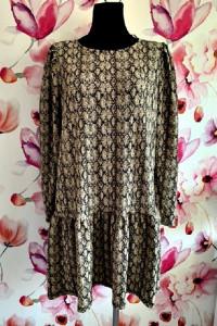 primark sukienka modny wzór węża skóra jak nowa hit blog 40