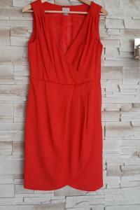 sukienka kopertowa 38