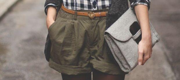 Jak nosić szorty jesienią?