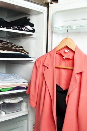 Lodówka na ubrania, czy to ma sens?